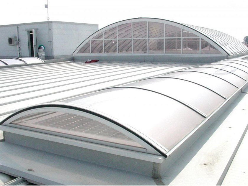 Continuous rooflight SERIE S by CAODURO