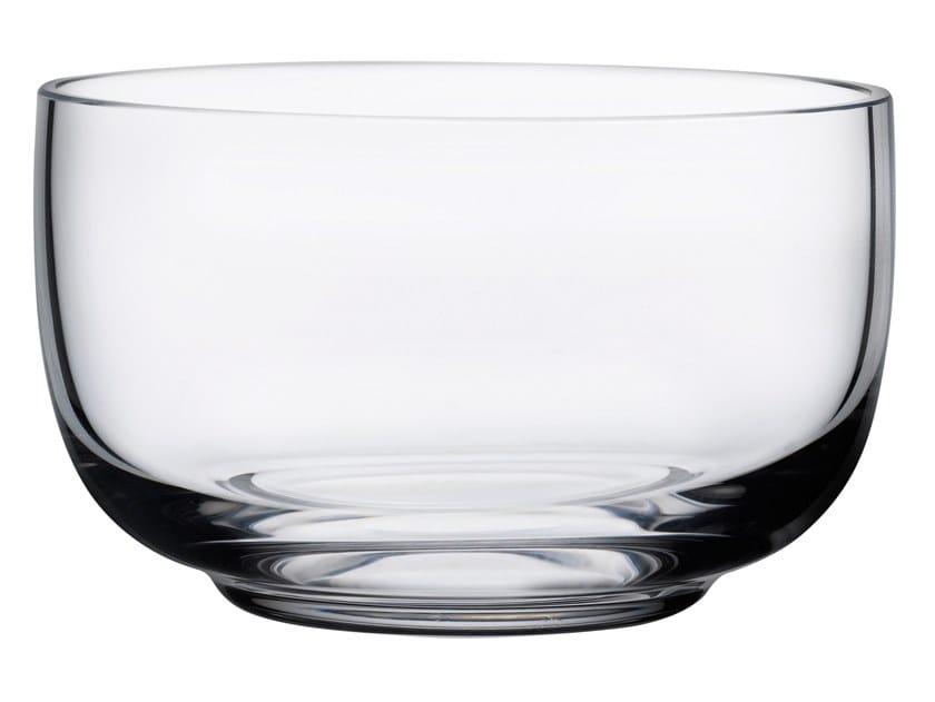 Crystal serving bowl MALT | Serving bowl by NUDE
