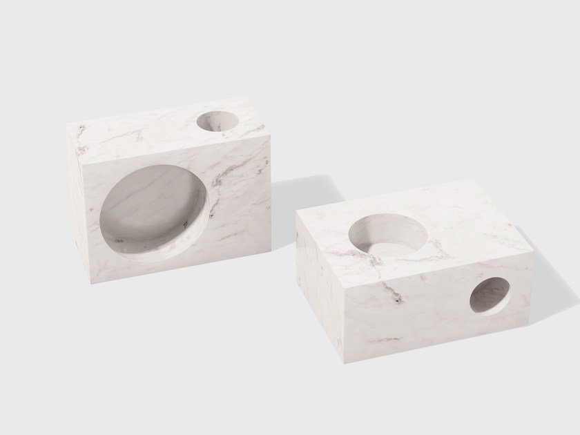 Marble candle holder SETUP   Marble candle holder by Matter Made