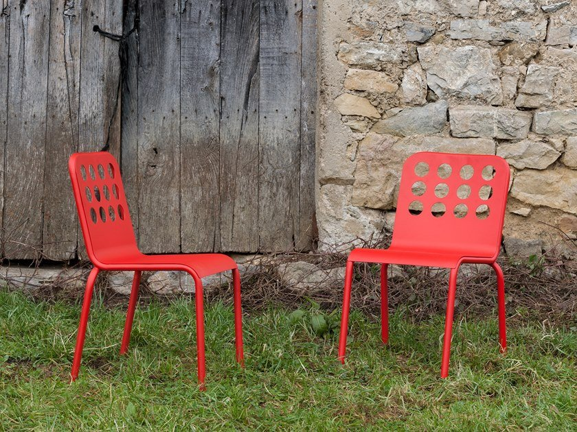 Stackable chair SEVILLA by iSimar