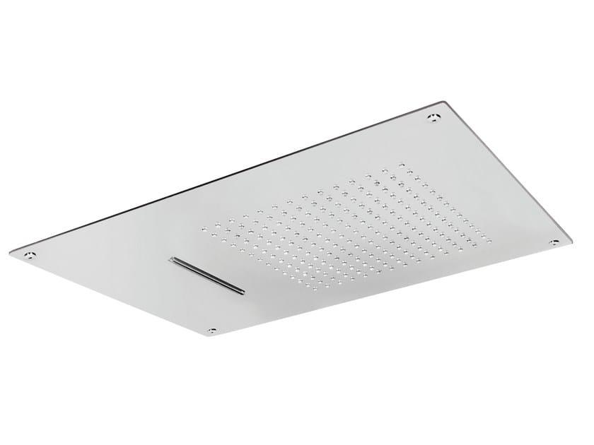 Built-in 2-spray overhead shower ROCK | 2-spray overhead shower by AQUAelite