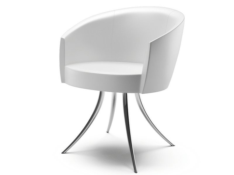 Easy chair with armrests SFER | Easy chair by Cizeta L'Abbate