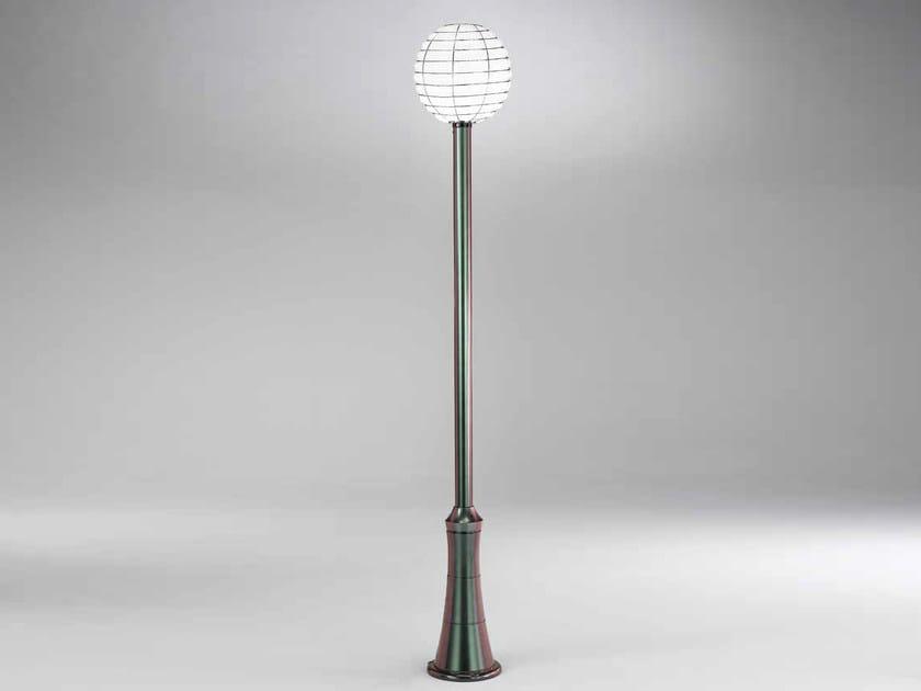 Murano glass garden lamp post SFERA EP 361 by Siru