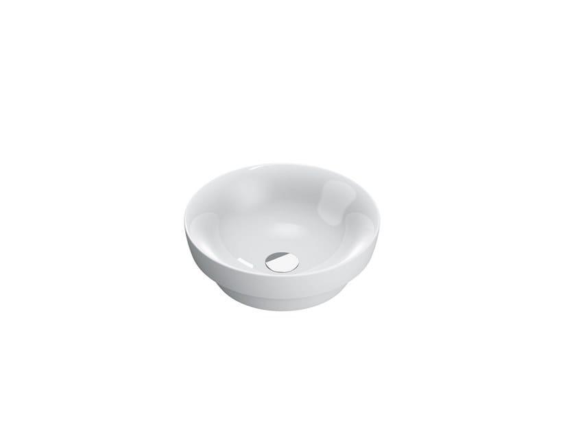 Round ceramic washbasin SFERA | Round washbasin by CERAMICA CATALANO
