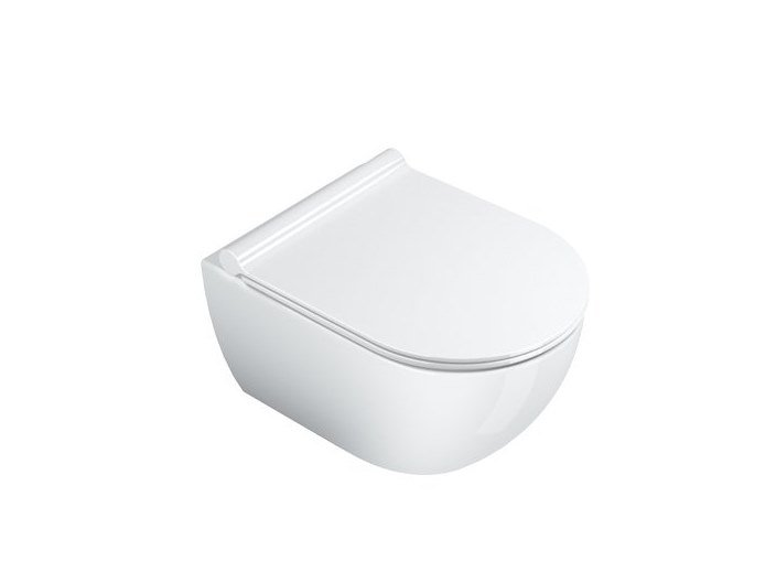 Wall-hung ceramic toilet SFERA | Wall-hung toilet by CERAMICA CATALANO