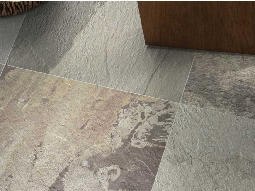 Porcelain stoneware outdoor floor tiles SHADES by M.v.b.