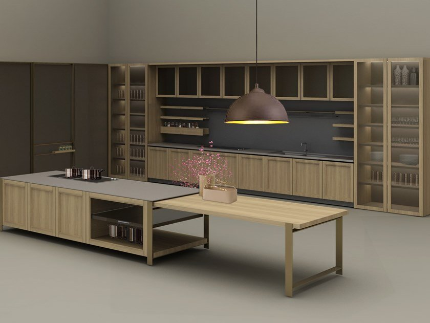 Fitted kitchen SHAKER by Ornare