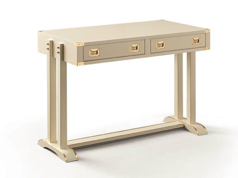 Wooden secretary desk SHAT by Caroti