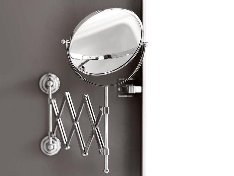 Round wall-mounted shaving mirror Shaving mirror by BATH&BATH