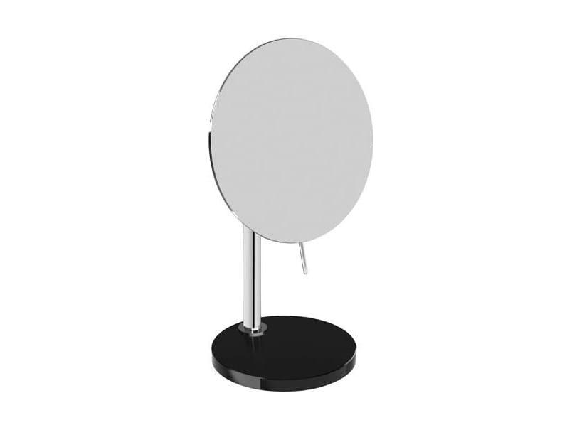 Countertop round shaving mirror HERITAGE COCO | Shaving mirror by pomd'or