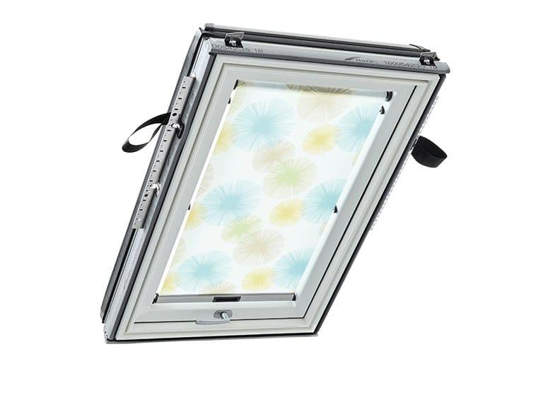 Sheer indoor skylight shade Sheer skylight shade by Roto