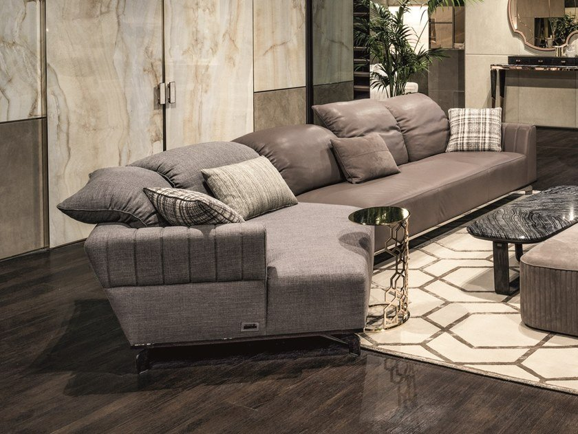 Modular convertible sofa SHEFFIELD | Modular sofa by Longhi