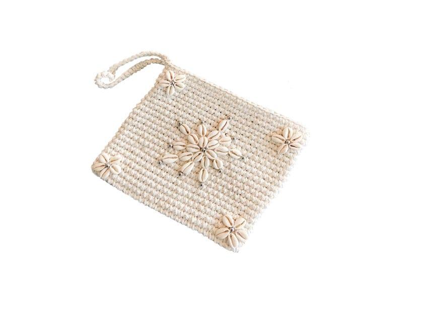 Cotton bag SHELL MACRAME by Bazar Bizar