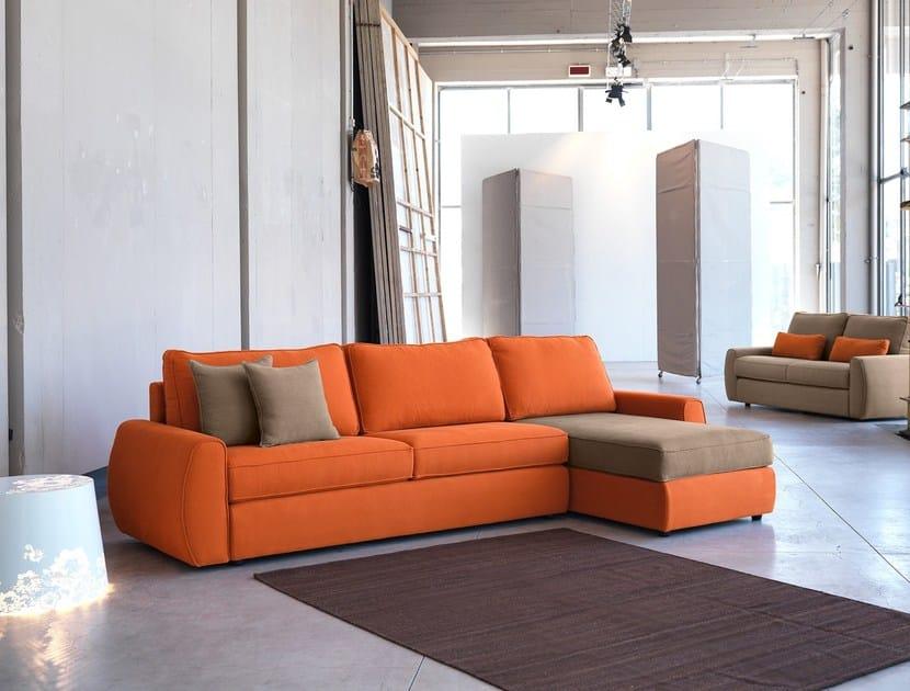 3 seater fabric sofa SHEPARD | Sectional sofa by Domingo Salotti