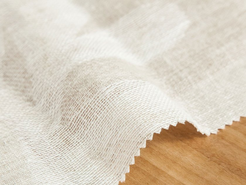 Linen fabric for curtains SHEREZADE by Equipo DRT