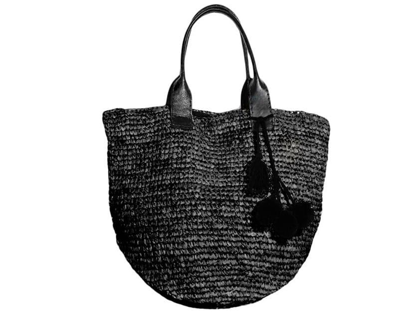 Raffia bag SHOPPER by Bazar Bizar