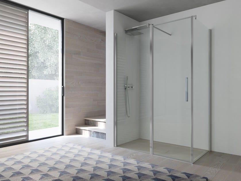 Corner glass shower cabin OMEGA | Shower cabin by Idea