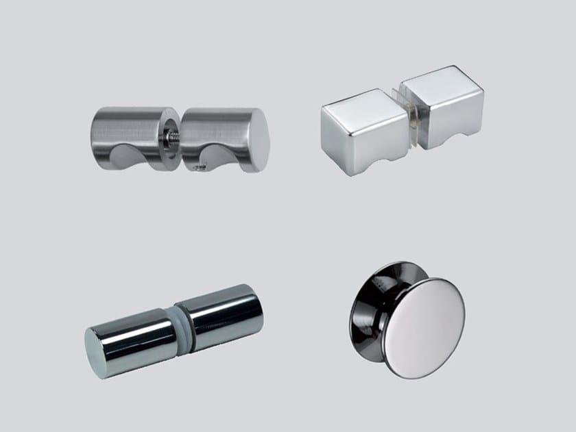 Brass Shower cabin knob Shower cabin knob by Metalglas Bonomi