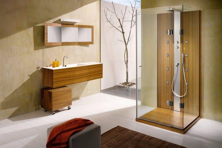 Box doccia con porta a battente