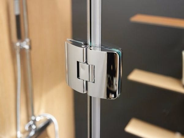 Metal Shower door hinge Shower door hinge by CARMENTA