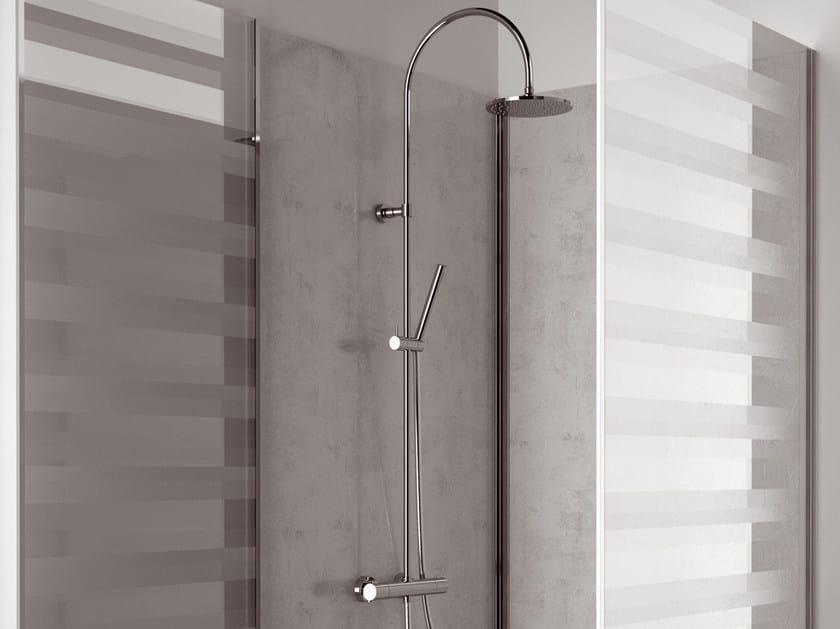 Colonna doccia termostatica con doccetta factor colonna doccia