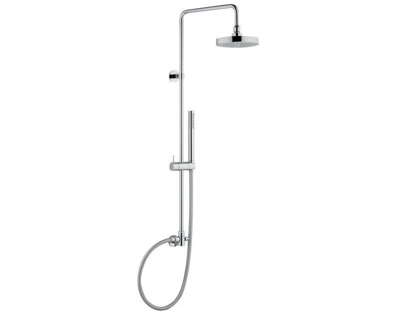 Wall-mounted multifunction shower panel CL004 AB | Shower panel by AQUAelite