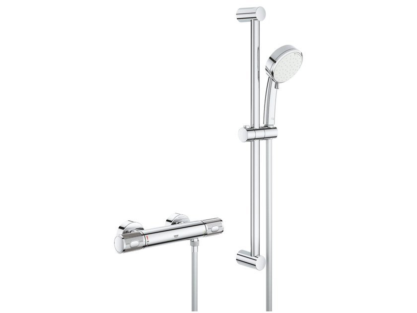 Thermostatic brass shower set GROHTHERM 1000 PERFORMANCE | Shower set by Grohe