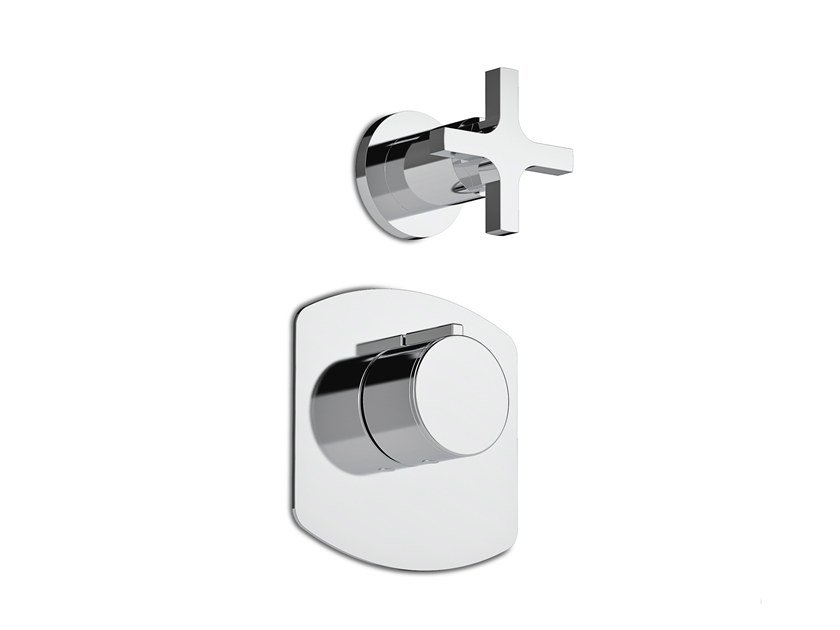 Recessed shower tap SIMPLE | Shower tap by RUBINETTERIE STELLA