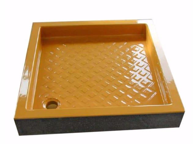 Glazed lava shower tray Shower tray by Sgarlata