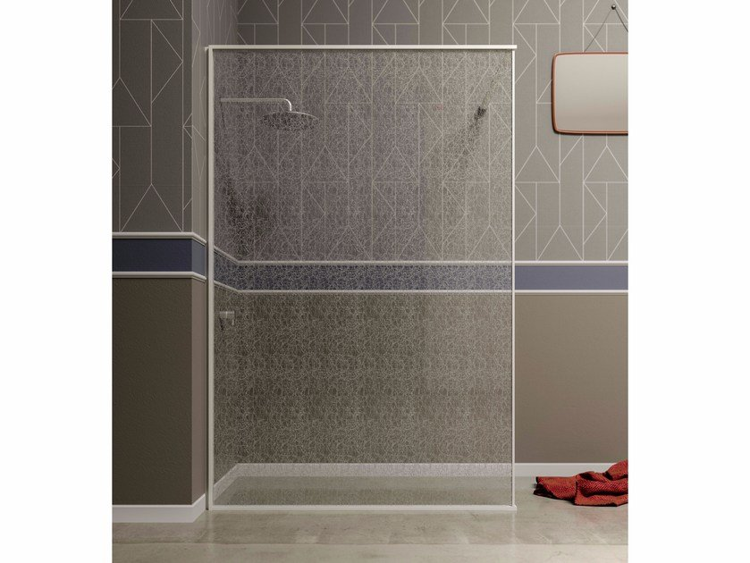 Crystal Walk in shower SCIARADA | Walk in shower by Blu Bleu