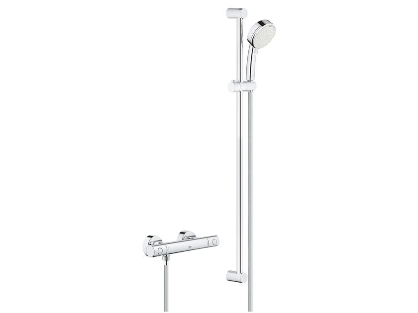 Thermostatic brass shower set GROHTHERM 800 COSMOPOLITAN | Shower set by Grohe
