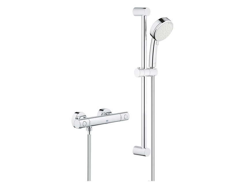 Thermostatic brass shower set GROHTHERM 800 COSMOPOLITAN   External shower set by Grohe
