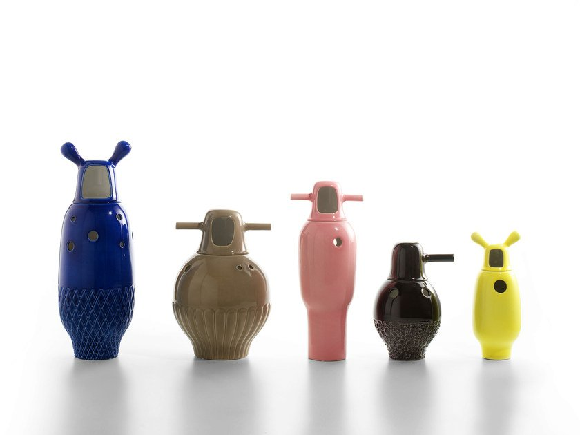 Florero de porcelana SHOWTIME | Florero by BD Barcelona Design