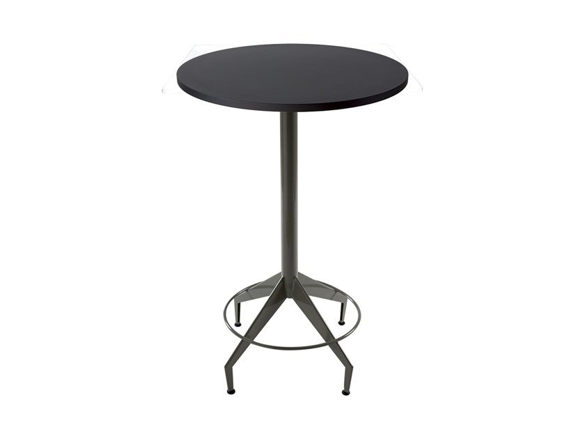 Round iron contract table SHUTTLE | Round table by Vela Arredamenti