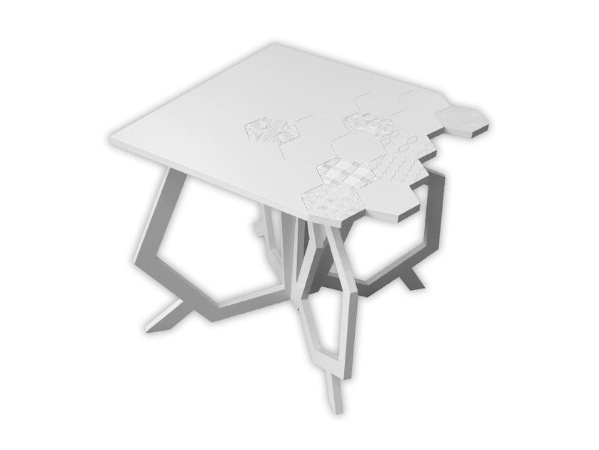 MDF high side table for living room SI-316 | Coffee table by LAS