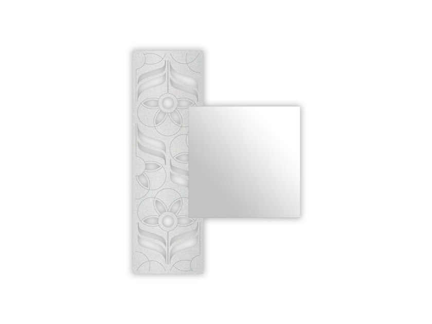 Wall-mounted mirror SI-442 | Mirror by LAS