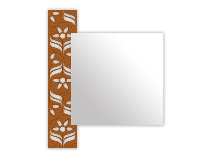 Wall-mounted mirror SI-443 | Mirror by LAS