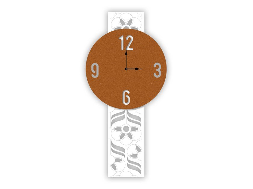 Wall-mounted MDF clock SI-447L | Clock by LAS