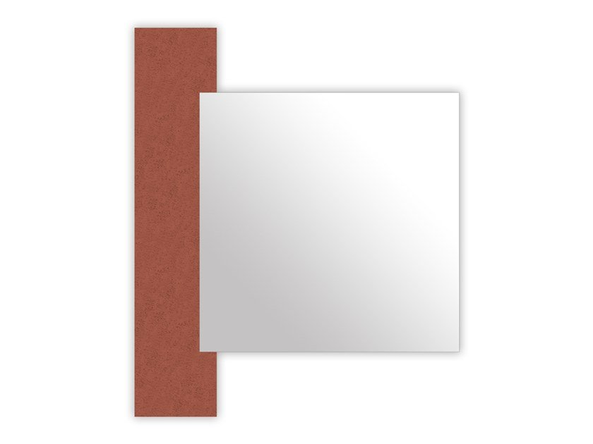 Wall-mounted mirror SI-466-M1 | Mirror by LAS