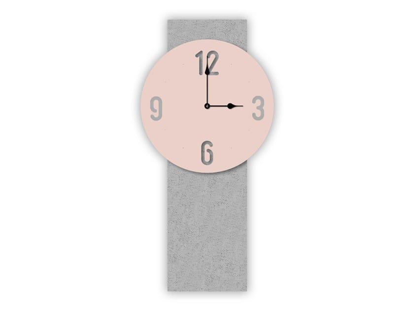 Wall-mounted MDF clock SI-469-M1 | Clock by LAS