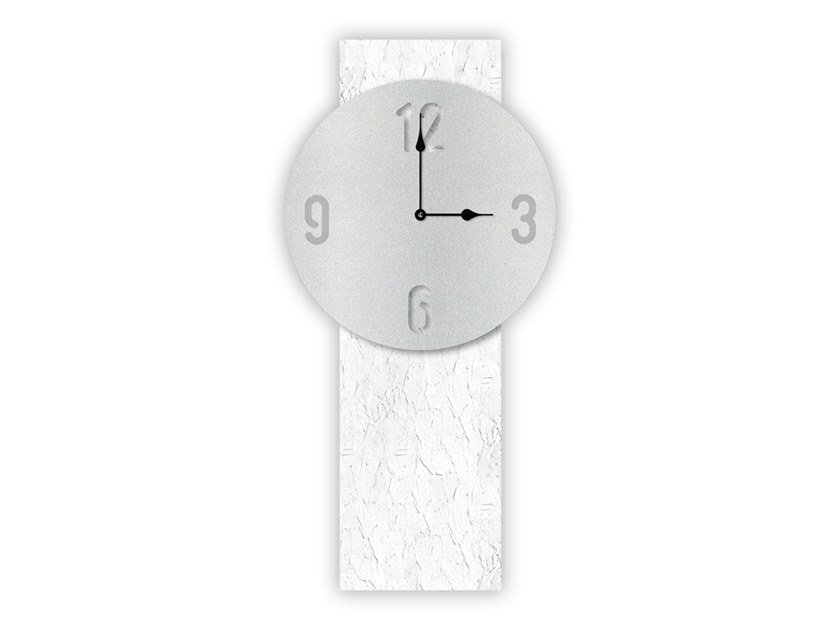 Wall-mounted MDF clock SI-469-M2 | Clock by LAS