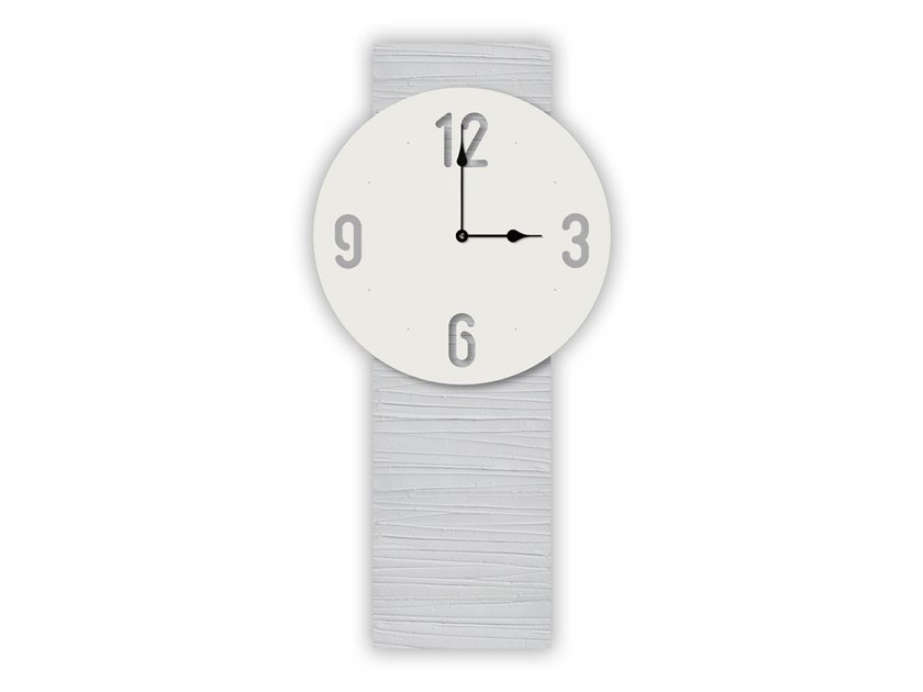 Wall-mounted MDF clock SI-469-M3 | Clock by LAS