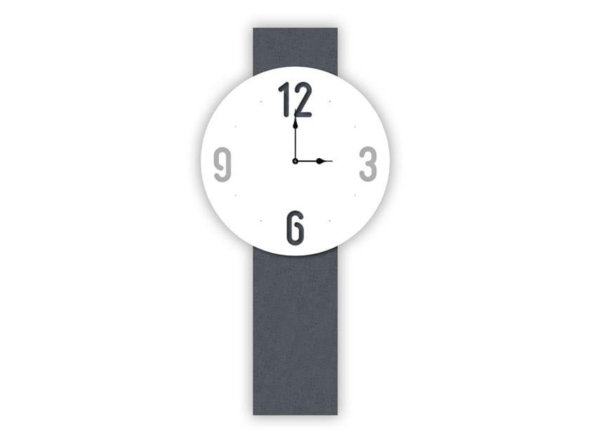 Wall-mounted MDF clock SI-469L-M1 | Clock by LAS