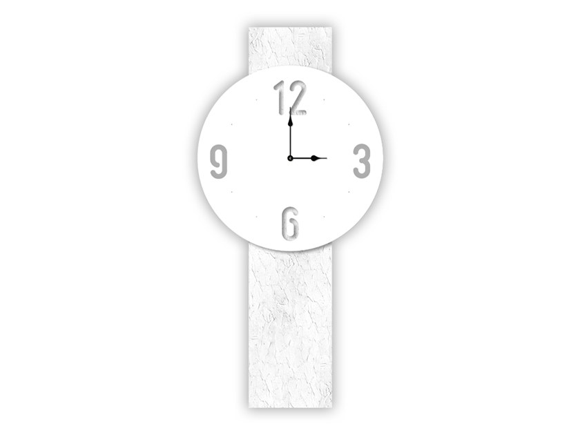 Wall-mounted MDF clock SI-469L-M2 | Clock by LAS
