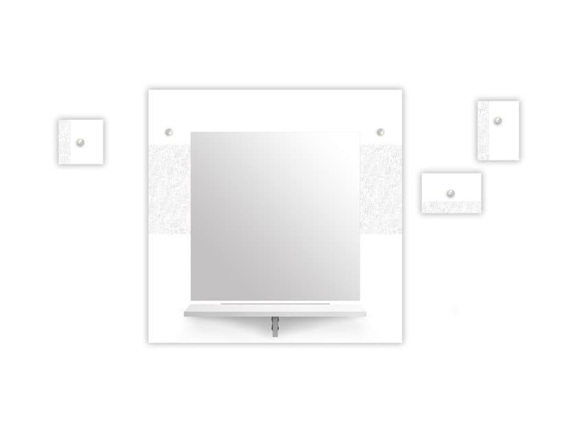 Specchio / appendiabiti in MDF SI-471-M1 | Appendiabiti by LAS