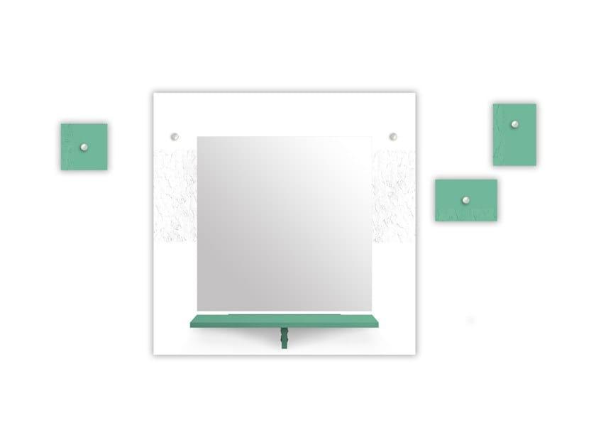 MDF mirror / coat rack SI-471-M2 | Mirror by LAS