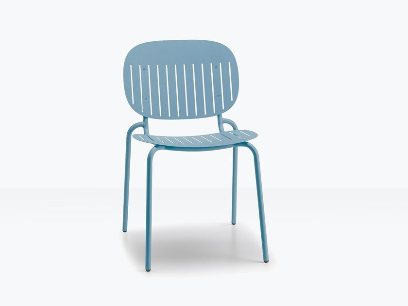Steel chair SI-SI BARCODE   Chair by SCAB DESIGN