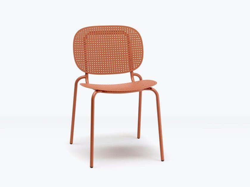 Sedia in acciaio SI-SI DOTS | Sedia by SCAB DESIGN