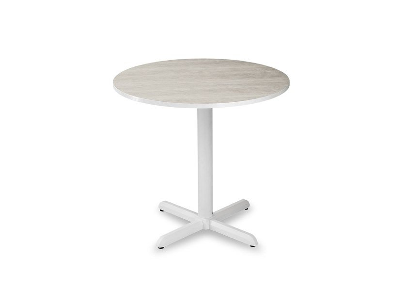 Round garden table with 4-star base DIAMANTE | Round table by Garden Tech