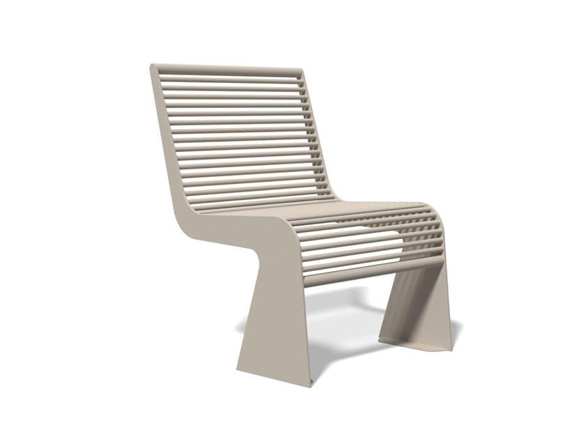 Seduta da esterni in acciaio inox SIARDO 20 R | Seduta da esterni by BENKERT BANKE